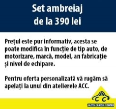 Set ambreiaj